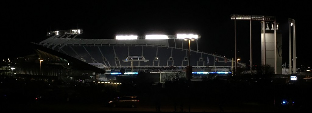 Royals Stadium After the Game