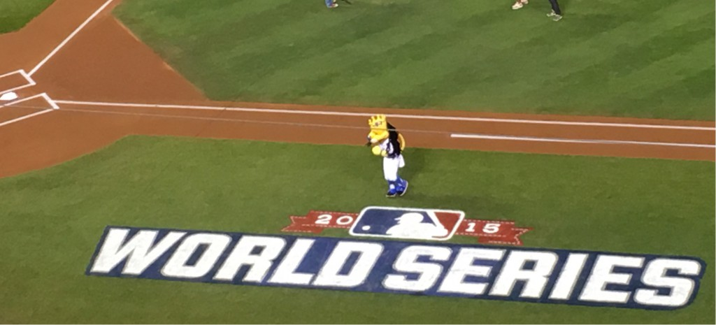Sluggerrr at the World Series
